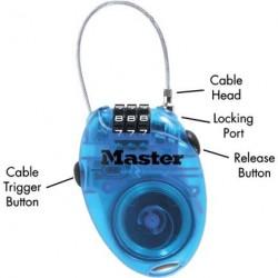Zahlenschloss Master Lock 4603