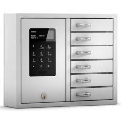 KeyBox System mit 6 Fächern