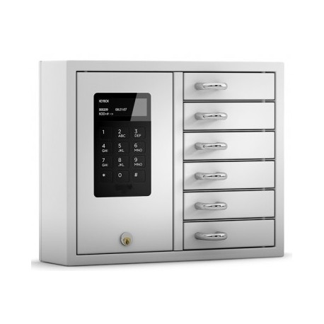 KeyBox System avec 6 compartiments