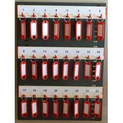 Haky Schlüsselplatte mit 24 Haken